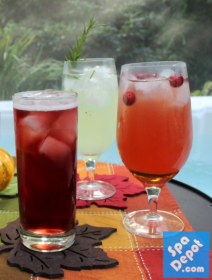 17 best images about party beverages on pinterest punch for Fall cocktail ideas