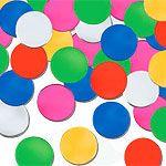 Multi-coloured Dots Table/Invite Confetti
