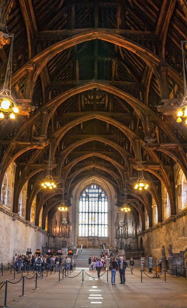 The oldest extant part of the Palace of Westminster, Westminster Hall was built in 1097 and was, at the time, Europe's largest hall | archdigest.com