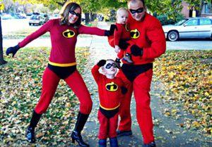 Disfraces #familiares para Halloween #familycostumes @Eugenia Correa de Cruz @BabyCenter en Español