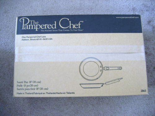 The Pampered Chef 8' Saute Pan * You can get more details here : Saute Pans