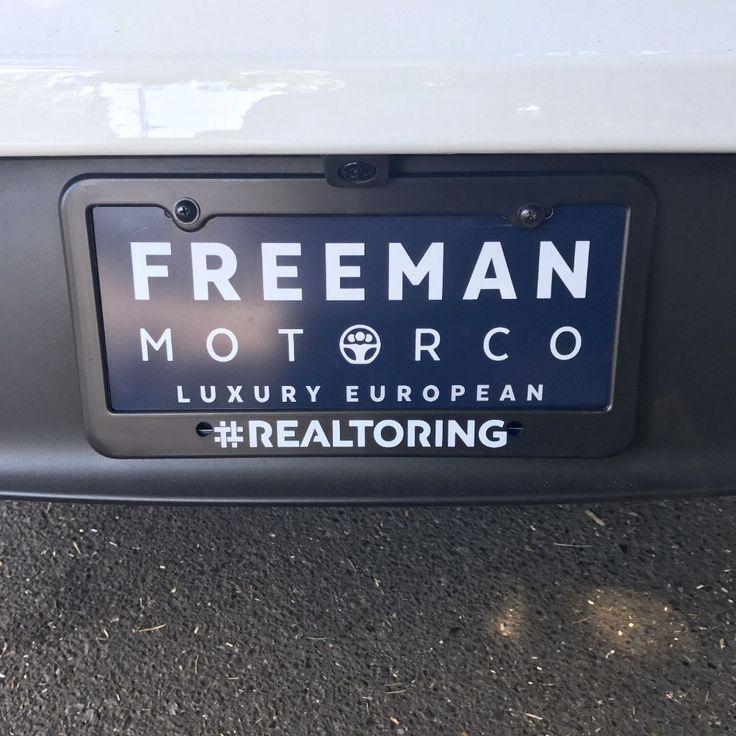 License Plate Frame - #REALTORING