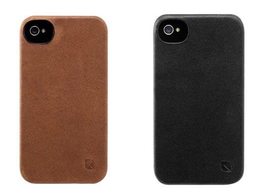 Incase iPhone Leather Snap Case: Cameras Hole
