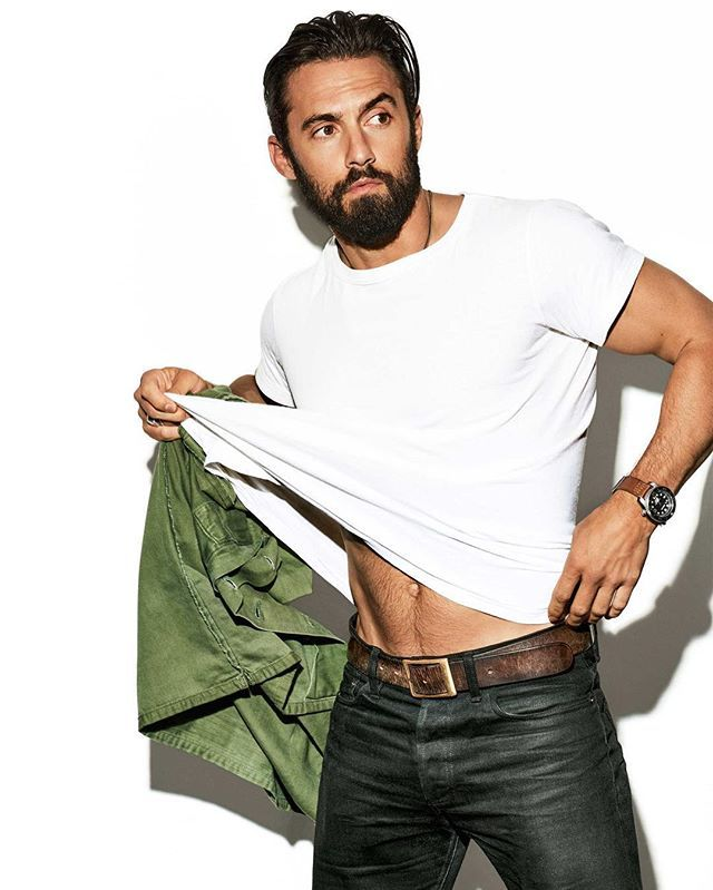 Who is watching Milo Ventimiglia's new show This is Us? Just watched the pilot and all I can say is #cryfest2016 (no spoilers on that amazing ending or any other episodes please!) 📸: by the hubby @ericraydavidson for @cosmopolitan #thisisus