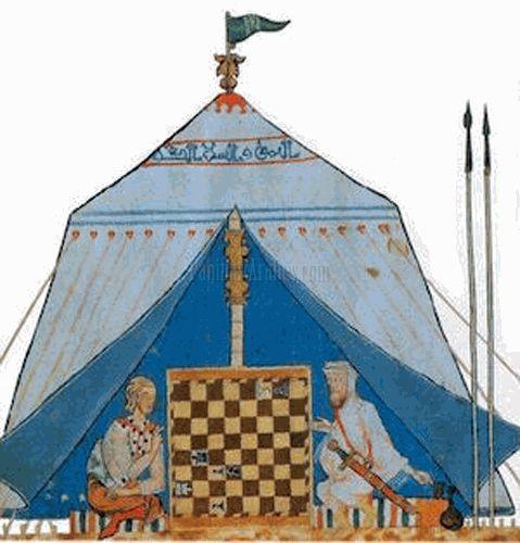 Al Mu'tamid, ajedrez y conciertos en Madrid y Sevilla