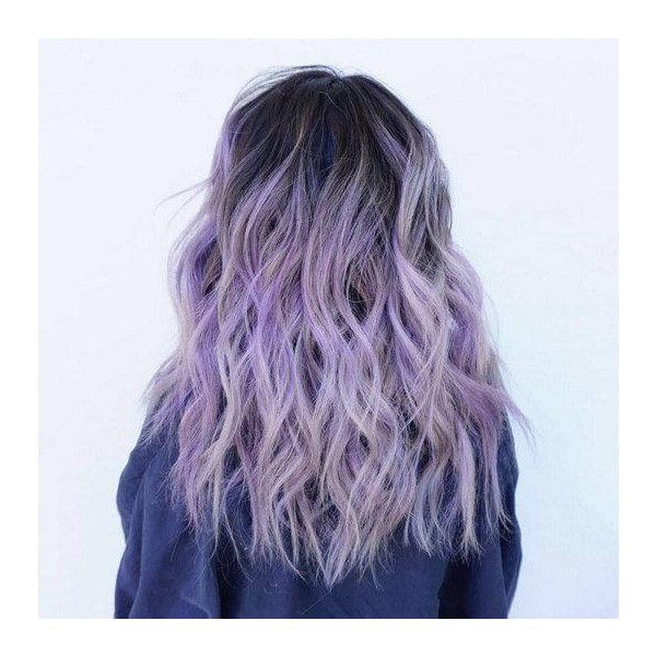 Balayage Dip Dye 8a Remy Ombre Balayage Human Hair Extensions Full... ($105) ❤ liked on Polyvore featuring beauty products, haircare, bath & beauty, grey, hair care and hair extensions