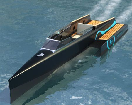 odonata efficient electric evolved hull e3h boat