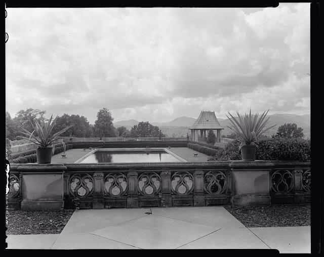 Biltmore Estate Outdoor Swimming Pool Built By Edith And Layer Filled In By Biltmore Company