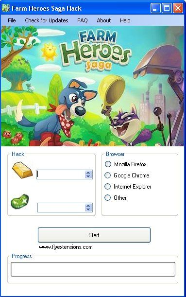 Farm Heroes Saga Hack Download Today we introduce to you the 100% working Farm Heroes Saga Hack which add unlimited gold bars or magic beans to your facebook application in just one second. All you need to do is just to login and press activate hack. We guarantee you that you will be the best …