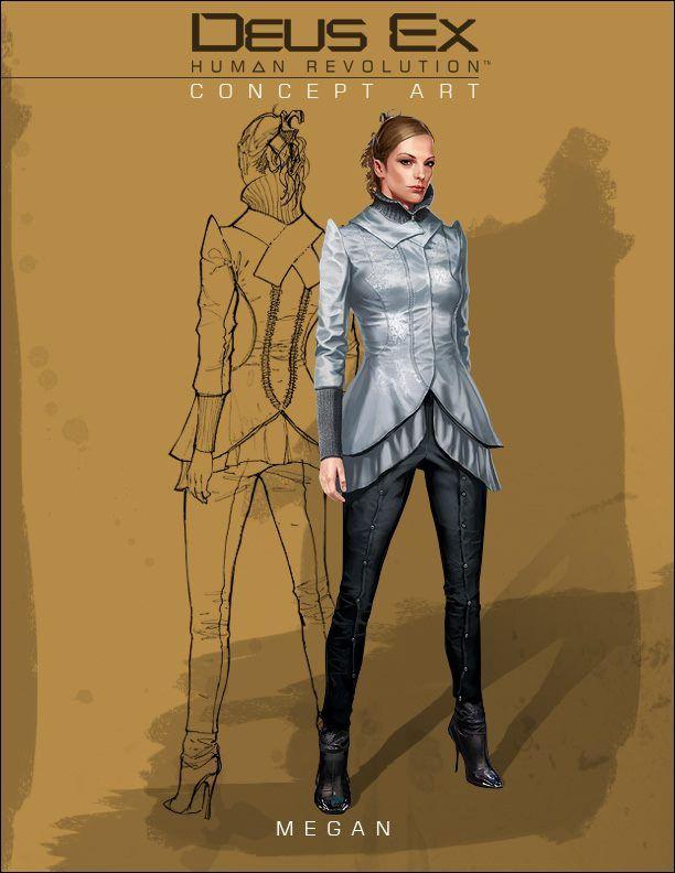 Megan Reed from Deus Ex: Human Revolution