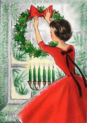 4272 best Vintage Christmas Cards images on Pinterest | Vintage ...