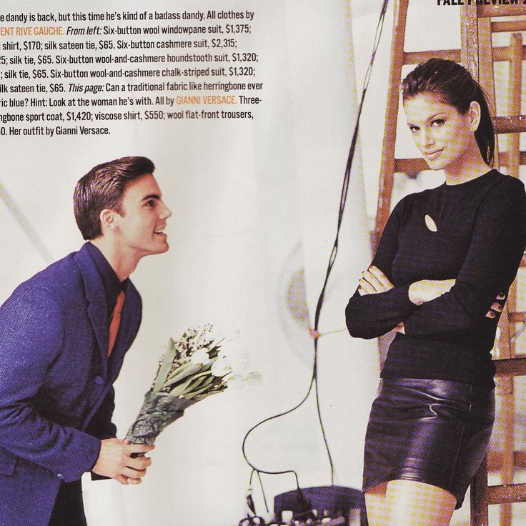 """1,124 Likes, 33 Comments - Colin Egglesfield (@colinegglesfield) on Instagram: """"#tbt to that time when I was 12 and bought flowers for @cindycrawford and asked her to marry me.…"""""""