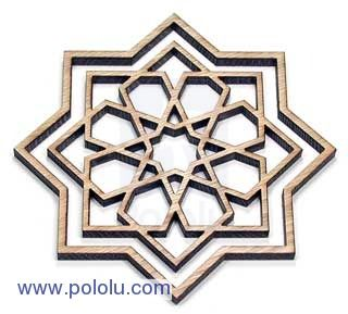 Pololu laser cutting service
