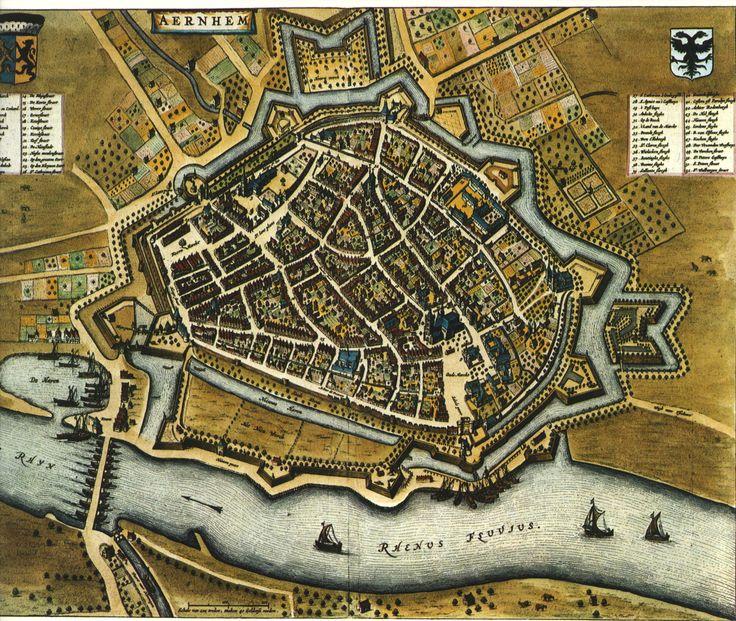 Blaeu Atlas. Arnhem1662, Netherlands