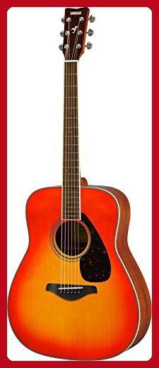 Yamaha FG820 Solid Top Acoustic Guitar, Autumn Burst - Fun stuff and gift ideas (*Amazon Partner-Link)
