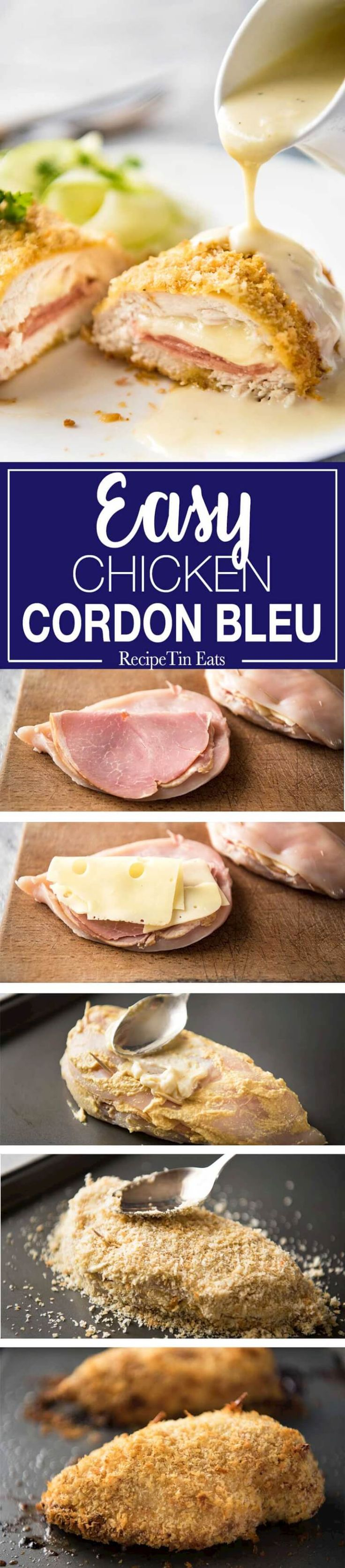 Chicken Cordon Bleu Easy Fancy