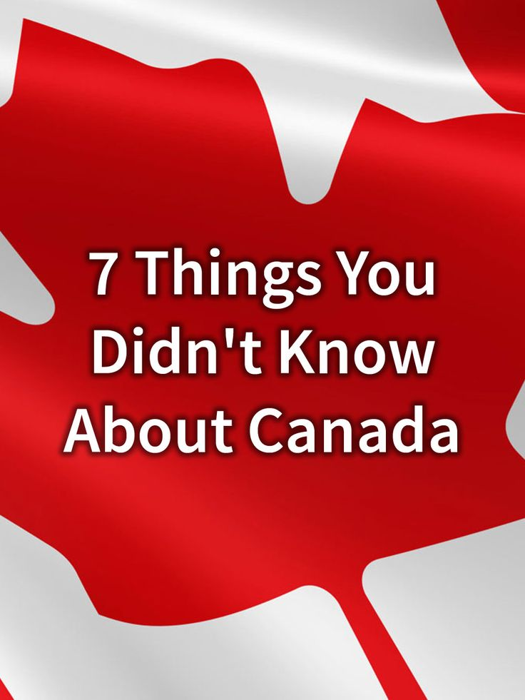 7 Things You Didn't Know About Canada · Kenton de Jong Travel - I'm proudly Canadian, and I accept the fact that a lot of people know very little about my country. A lot of people also seem to think cities like...