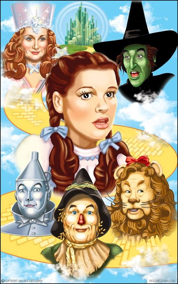 *THE WIZARD of OZ, Poster