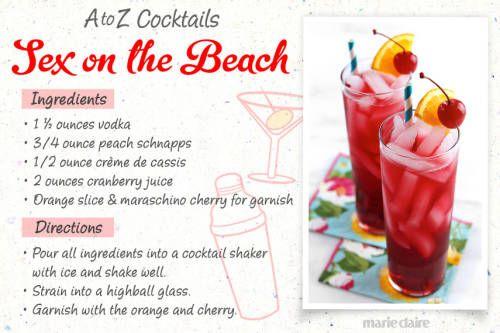 sex on the beach malibu rum