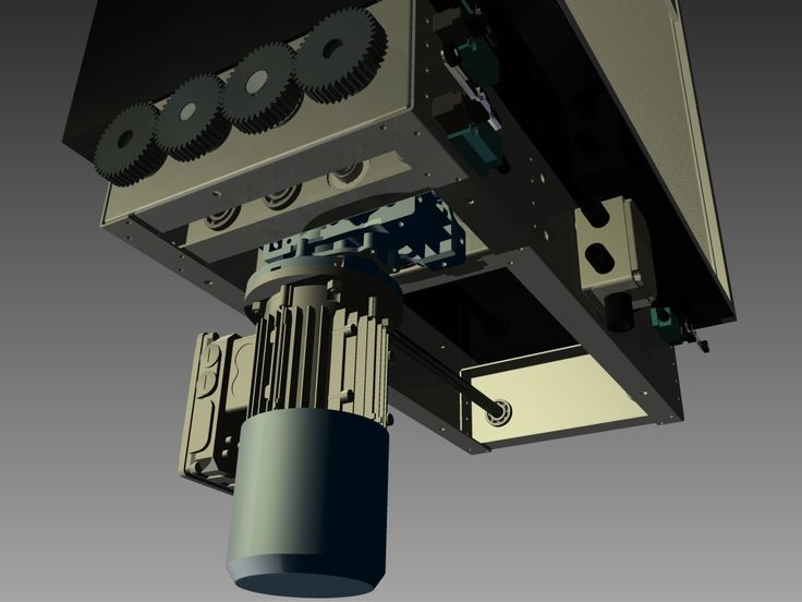 Our rack and pinion dumbwaiter assembly