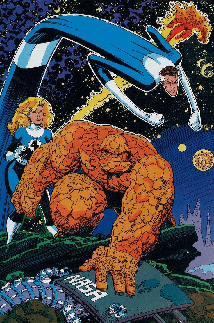 fantastic four comic art | Iron Man | Comics A-Go-Go! Comics, Movies, Music, News & More!