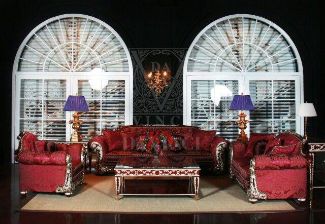 Victoria Collection by Elizabeth Oxford Creations...  Interior design - living room - wallpaper