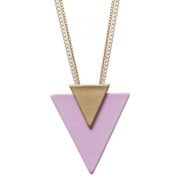 Ocean Triangle Necklace