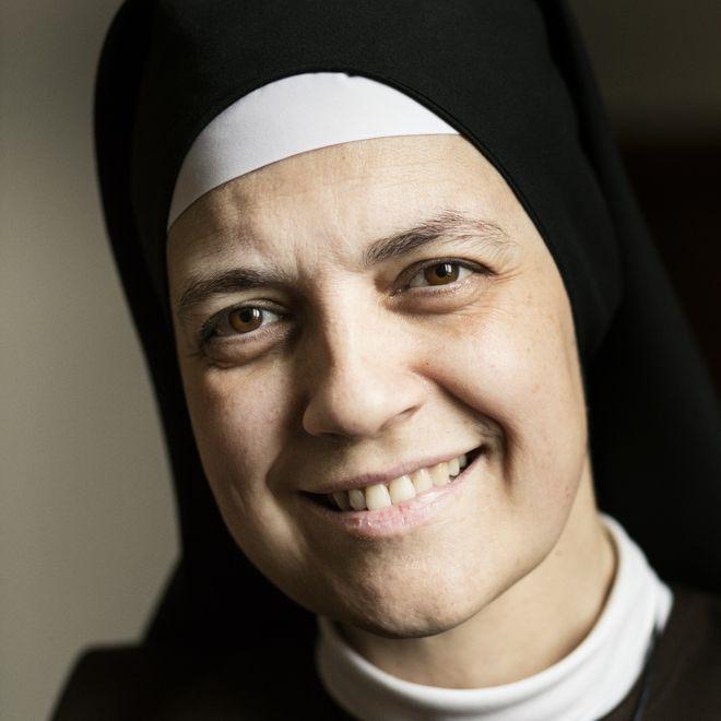 Olga María del Redentor, priora del convento de las Carmelitas Samaritanas del Corazón de Jesús de Valladolid.