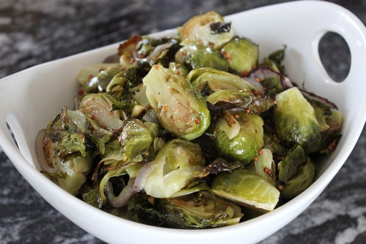 Maple Dijon Brussels Sprouts | The Gluten Free Vegan I did 400 until ...