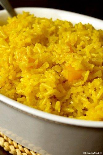 gele rijst met perzik 2
