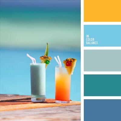 color agua oceánica, color aguamarina, color azul aguamarina, colores para una velada al estilo hawaiano, combinaciones de colores, elección del color, matices del azul claro, paleta de colores tropicales, selección de colores para el diseño, tonos celestes. Más