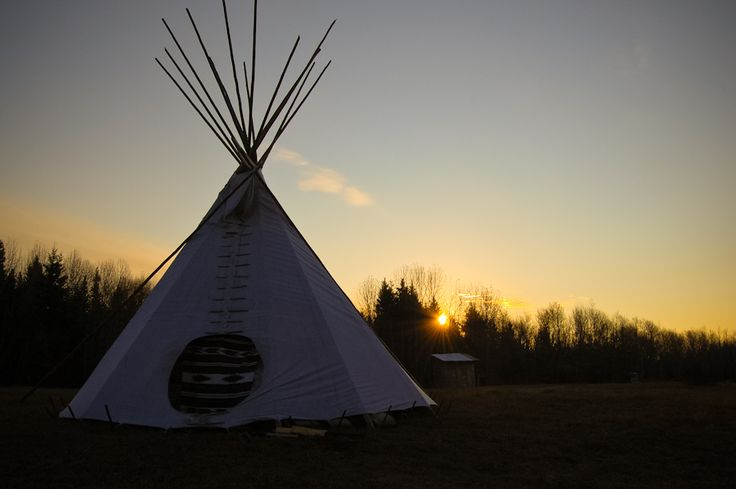 Tipi accommodations and horseback riding with Sturgeon River Ranch near Prince Albert National Park, #Saskatchewan