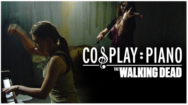 The Walking Dead - Cosplay Piano This is so fantastic!