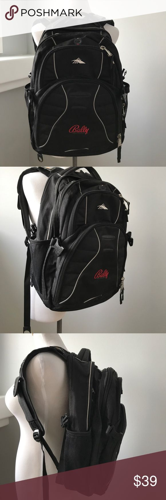 Suspension strap sys-high sierra airflow backpack Suspension straps system High sierra durable with lots of compartments backpack like new High Sierra Bags Backpacks