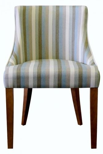Charming Classic Curve Back Chair @ZoffanyFW #chair #diningchair