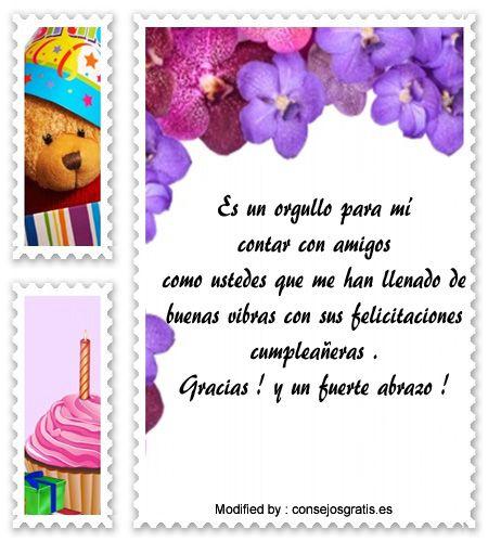 » Mensajes Para Agradecer Saludos Por Mi Cumpleaños | Frases de agradecimiento : http://www.consejosgratis.es/increibles-mensajes-para-agradecer-saludos-por-mi-cumpleanos/