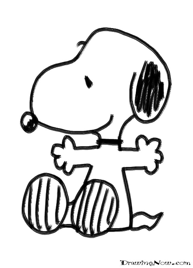 Peanuts Colouring Pages (page 3)