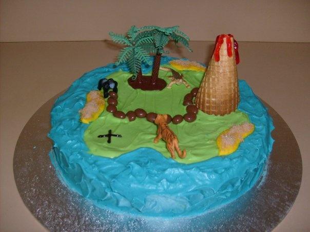 Treasure Island Cake