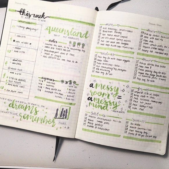 This week's spread from tumblr user genspen! #study #studyblr #studyspo…