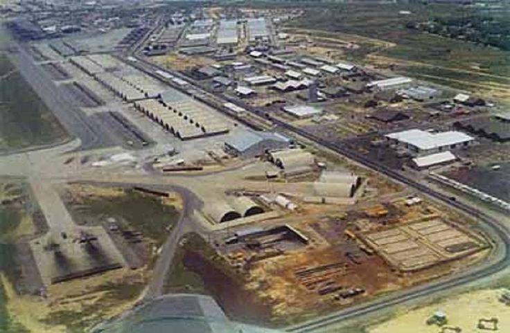Ariel view of DaNang Air Base Vietnam 19701972 – Map Us Bases Vietnam 1970