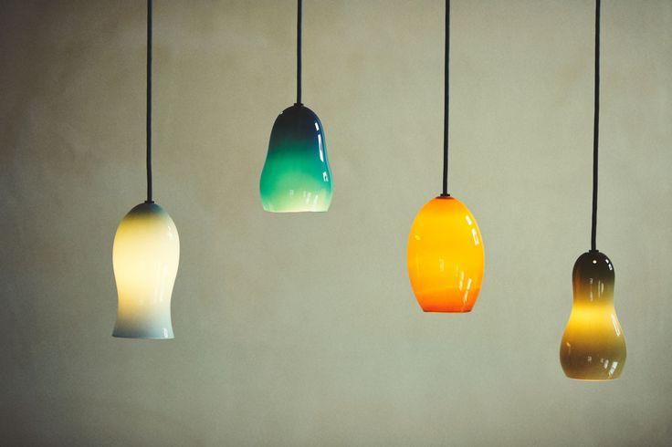 ババグーリ ガラスのペンダントランプ