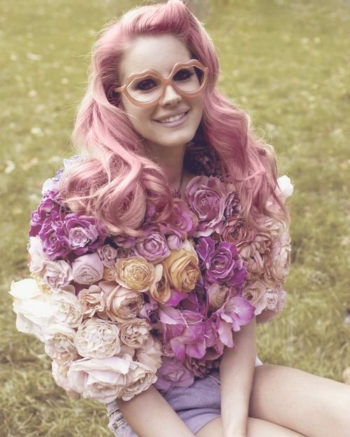 Pink hair + pink glasses + withing this were me