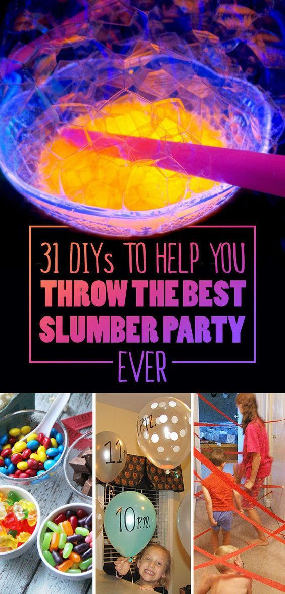 31 Diys To Help You Throw The Best Slumber Party Ever