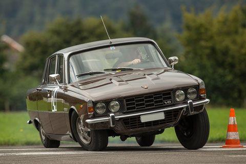 Rover P6 en course!