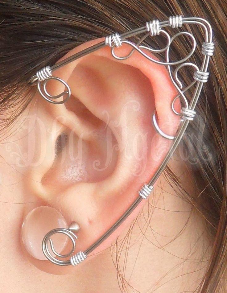 elf, fairy, ear, wire, craft https://www.facebook.com/Dhyngetal