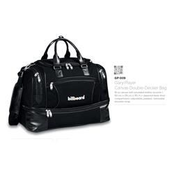 GARY PLAYER COLLECTION CANVAS DOUBLE-DECKER BAG GP-009