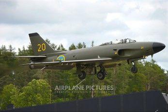 32620 - Swedish Air Force Historic Flight SAAB J 32 Lansen photo (1366 views)