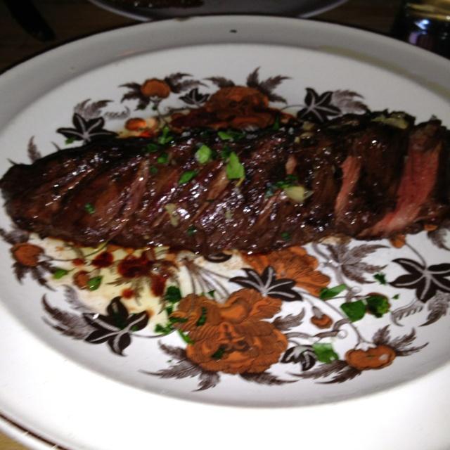 Butcher cut steak, St Anslem, Brooklyn