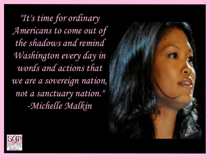 Love Michelle Malkin.  Amazingly articulate and doesn't pull any punches.