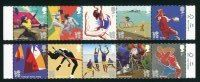 2012 Summer Olympics & Paralympics Two Mint Strips of 5 Great Britain, 2011
